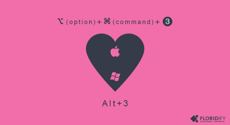 HowTo: Make Heart Symbol
